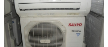 may lanh sanyo 1 5hp  inverter