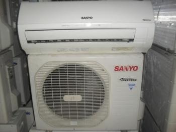 may lanh sanyo 2 5hp  inverter